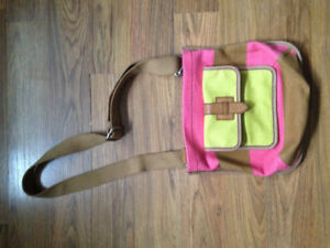 Authentic Neon Fossil Purse.