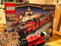 The original Harry Potter lego train 4708