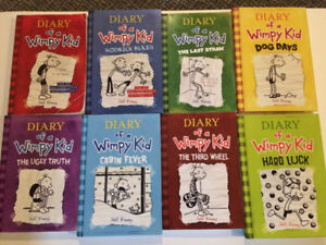Diary of a Wimpy Books 1-8