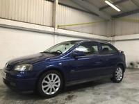 2003 Vauxhall Astra 1.6 i 16v SXi 3dr