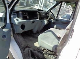 2012 FORD TRANSIT T350 2.2 TDCI 100 BHP TWIN WHEEL RWD DOUBLE CAB STEEL TIPPER