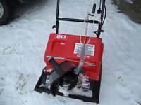 20 inh Murray ELECTRIC SNOWBLOWER