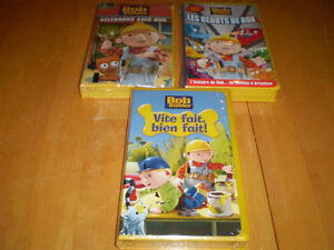 FRENCH BOB THE BUILDER VHS TAPES NEW Windsor Region Ontario image 1