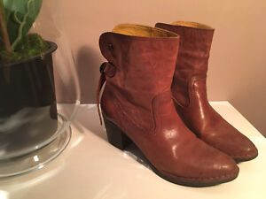 Size 41 Short Just over Ankle Boots - Bussola, Puchased for $230
