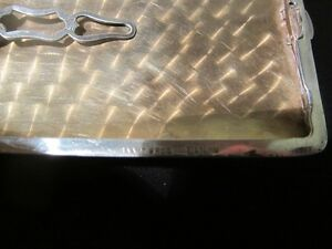 SAART STERLING SILVER CIGARETTE CASE Peterborough Peterborough Area image 3