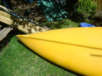 FIBER GLASS CANOE FOR SALE.MADE BY PENWOOD PRODUCTS.