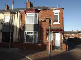 3 bed upper flat, unfurnished Dean Road, South Shields £475pcm