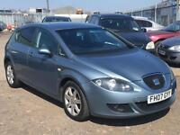 2007/07 Seat Leon 1.9TDI Stylance LONG MOT EXCELLENT RUNNER