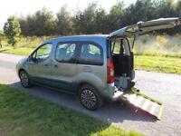 2013 Peugeot Partner Tepee 1.6 Hdi WHEELCHAIR ACCESSIBLE DISABLED VEHICLE CAR