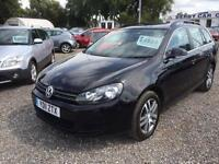 2011 VOLKSWAGEN GOLF 1.6 TDI 105 BlueMotion Tech SE DIESEL ESTATE ONLY GBP20 TAX