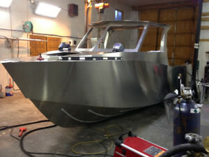 Custom aluminum boats lobster boats work boats landing craft