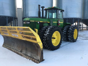 JD 8450 Tractor with Blade