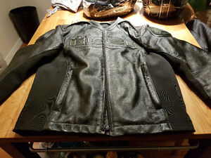 ICON Leather Motorcycle Jacket SIZE M or 52/54