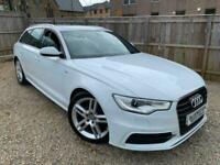 ✿2012/12 Audi A6 Avant 2.0 TDI S Line, Estate, White ✿LOOKS GREAT ✿NICE EXAMPLE✿