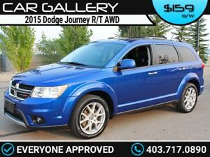2015 Dodge Journey R/T AWD 7 Pass w/Leather, Navi, BackUp Cam $1