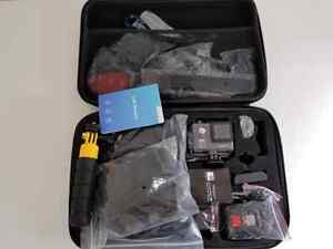 4K WiFi Action Camera with many accessories  Cambridge Kitchener Area image 5