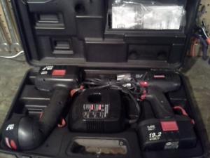Craftsman 19.2v Drill Set