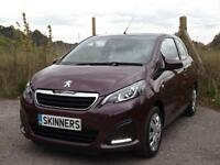 Peugeot 108 Active 3dr PETROL MANUAL 2015/65