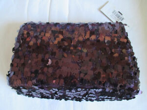 New sequin style evening bag or clutch style purse