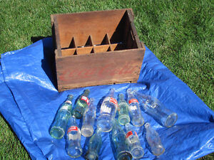 12 Bottle Coca Cola Crate