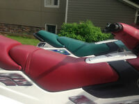 Sea-doos and trailer