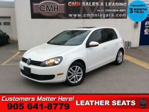2010 Volkswagen Golf   MANUAL SUNROOF HEATED SEATS