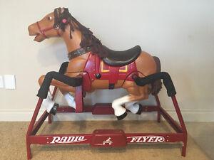Kid's rocking horse