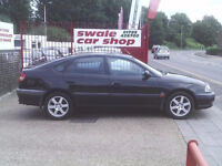 Toyota Avensis Black 2001 Spare and Repairs