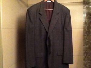 Men's WM Leishman sport jacket size 44 navy/dark grey