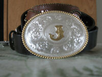 New Pics ! Ladies & youth - Pretty Western belts & Buckles