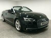 2018 Audi A5 CABRIOLET 2.0 TFSI S line Cabriolet (s/s) 2dr Convertible Petrol Ma