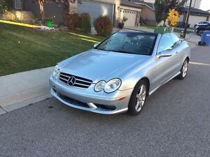 2007 Mercedes CLK 550 convertible
