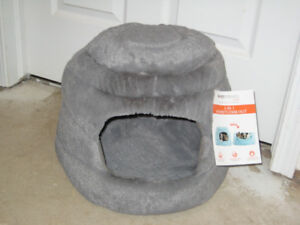 2-in-1 Dog/Cat Bed