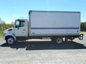 Great condition hino box truck with new lift gate.