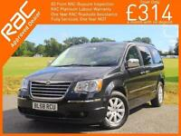 2009 Chrysler Grand Voyager 2.8 CRD Turbo Diesel Limited Ltd 7-Seater MPV 6 Spee