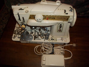OLD Singer sewing machine and Kenmore