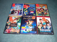 FOR SALE 38 DISNEY MOVIES NOT OPEN.