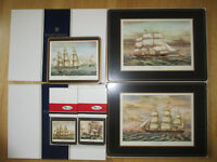 Pimpernel Clipper Ships Placemats and Coasters
