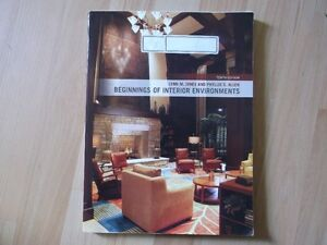 beginnings of interior environments,  tenth edition