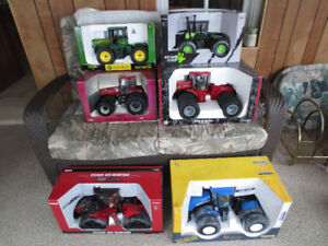 Case IH John Deere New Holland Toy Farm Tractors