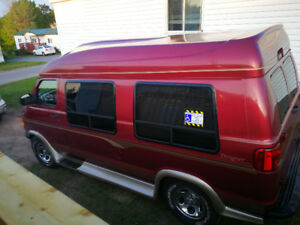 2003 Dodge Ram Handicapped Van .