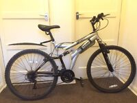 Men's Dunlop sport special edition mountain bike with suspension