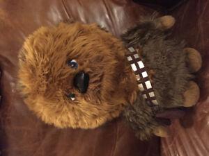 "Star Wars Chewbacca Talking Plush Toy 15"""