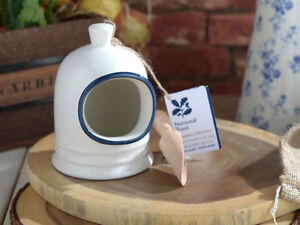 Creative Tops National Trust Country Kitchen Stoneware Salt Pig Wooden Scoop Pot