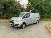 2016 Ford Transit Custom 2.0 TDCi euro 6 130ps LWB Limited Van NO VAT PANEL VAN