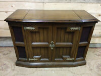 Vintage Stereo Cabinet with Turntable - Delivery
