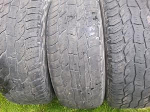 Set of 4  Cooper Tires (Discoverer)