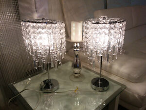 "2 x 18"" table lamps Cornwall Ontario image 1"
