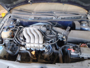 VW 2.0 L gas and std trans