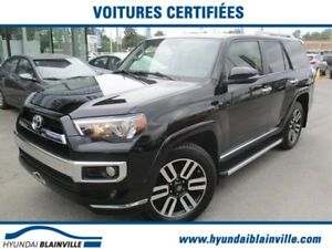 Toyota 4Runner LIMITED 7 PASS, JBL, NAVI. CUIR, TOIT, COMME NEUF